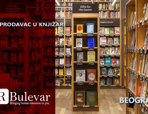 Prodavac u knjižari | Posao, Beograd, Novi Sad