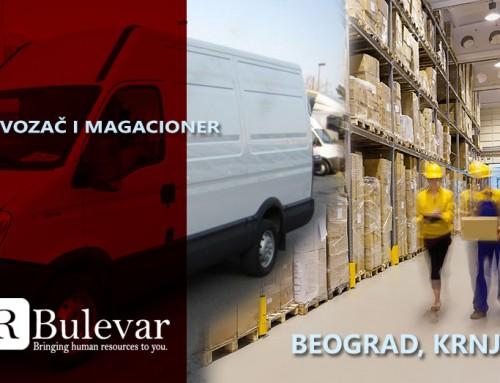 Vozač i magacioner | Posao, Beograd, Krnjača