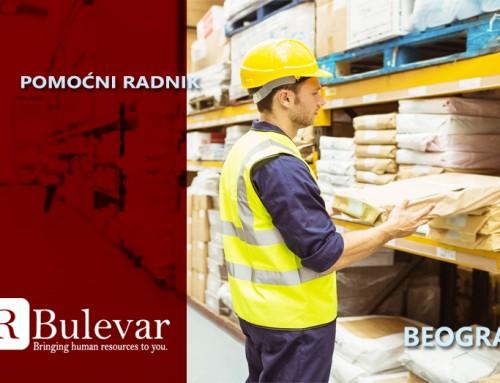 Pomoćni radnik | Oglasi za posao, Beograd
