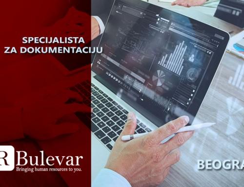 Specijalista za dokumentaciju | Oglasi za posao, Beograd