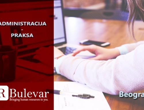 Administacija – praksa | Oglasi za posao, Beograd