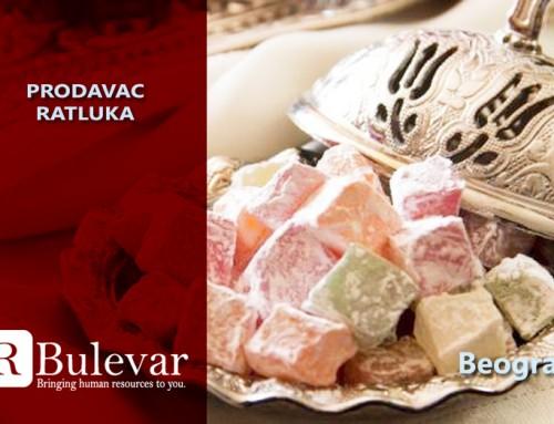 Prodavac ratluka | Oglasi za posao, Beograd