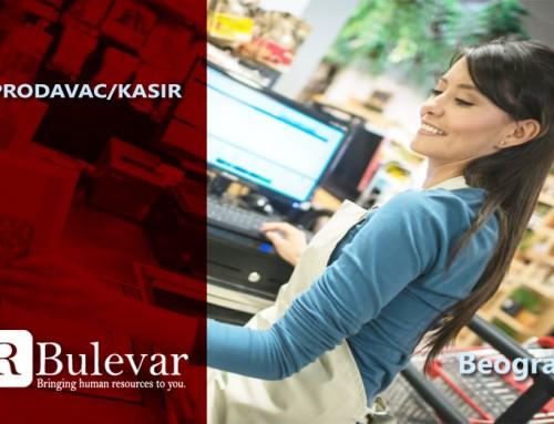 Prodavac/kasir | Oglasi za posao, Beograd