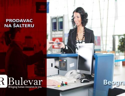 Prodavac na šalteru | Oglasi za posao, Beograd