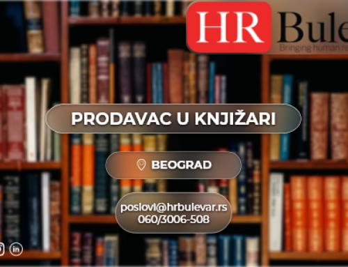 Prodavac u knjižari| Oglasi za posao, Novi Sad