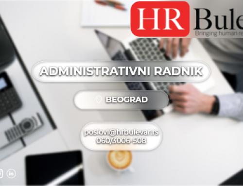 Administrativni radnik | Posao, Beograd