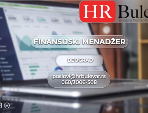 Finansijski menadžer | Oglasi za posao, Beograd