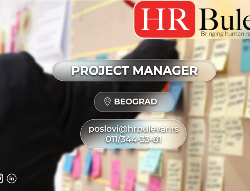 Project manager | Oglasi za posao, Beograd