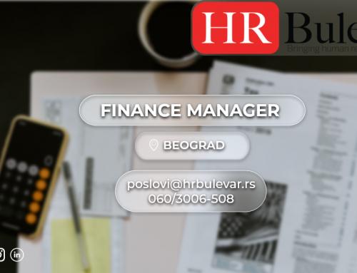 Finance Manager | Oglasi za posao, Beograd