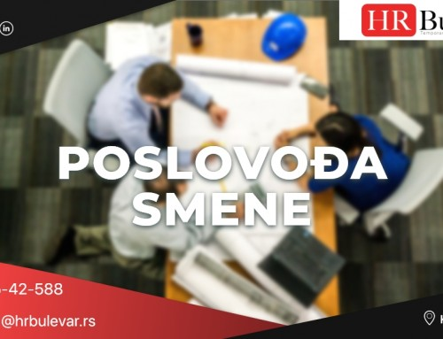 Poslovođa smene | Oglasi za posao, Kragujevac