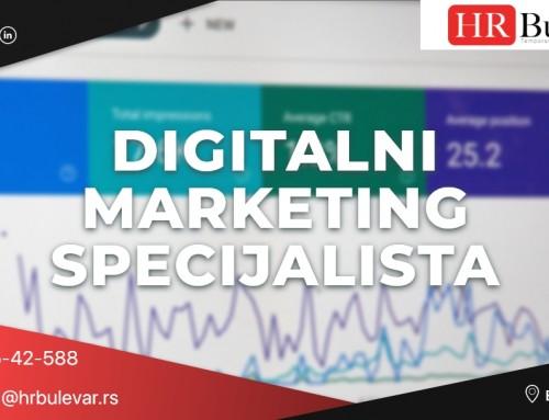 Digital marketing specijalista | Oglasi za posao, Beograd