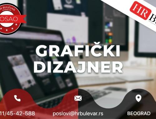 Grafički dizajner | Oglasi za posao, Beograd