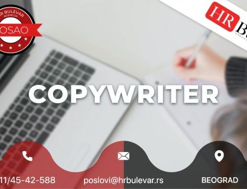 Copywriter | Oglasi za posao, Beograd