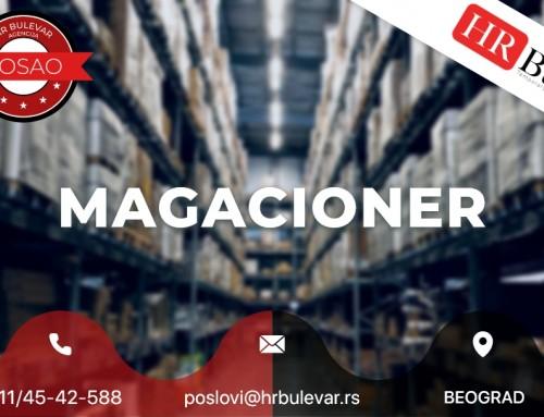 Magacioner | Oglasi za posao, Beograd