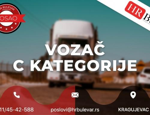 Vozač C kategorije | Oglasi za posao, Kragujevac