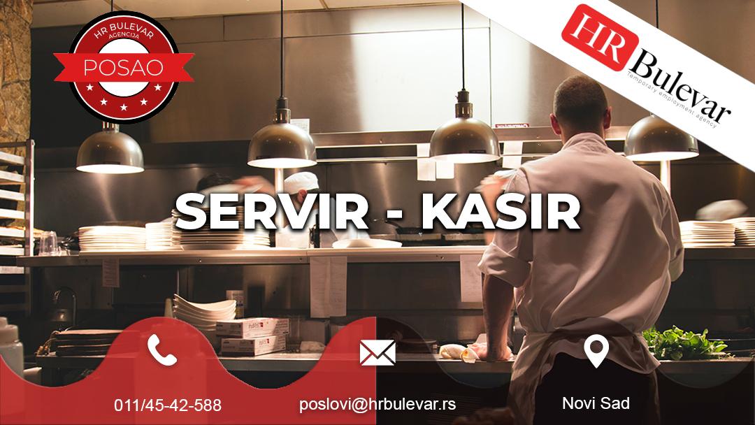 Servir - Kasir / Kasirka| Oglasi za posao, Novi Sad