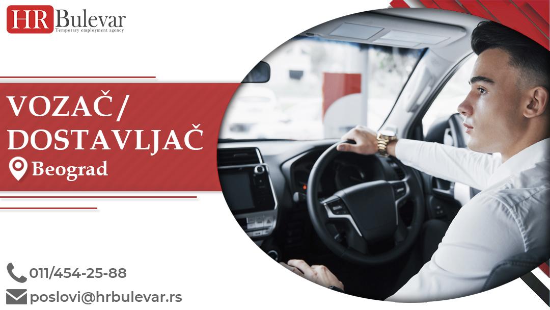 Vozač/Dostavljač