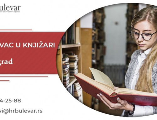 Prodavac u knjižari | Oglasi za posao, Beograd